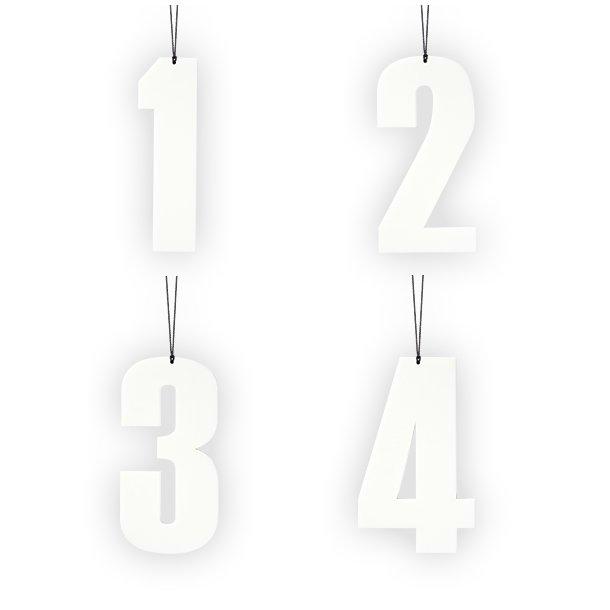 1-2-3-4, hvid
