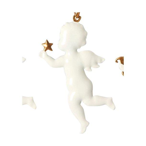 Hvid engel med stjerne