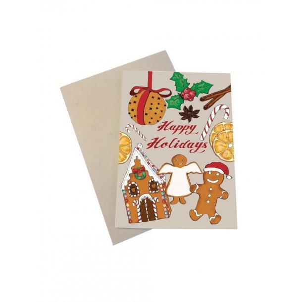 Happy Holidays med honningkager, sukkerstok og andet godt