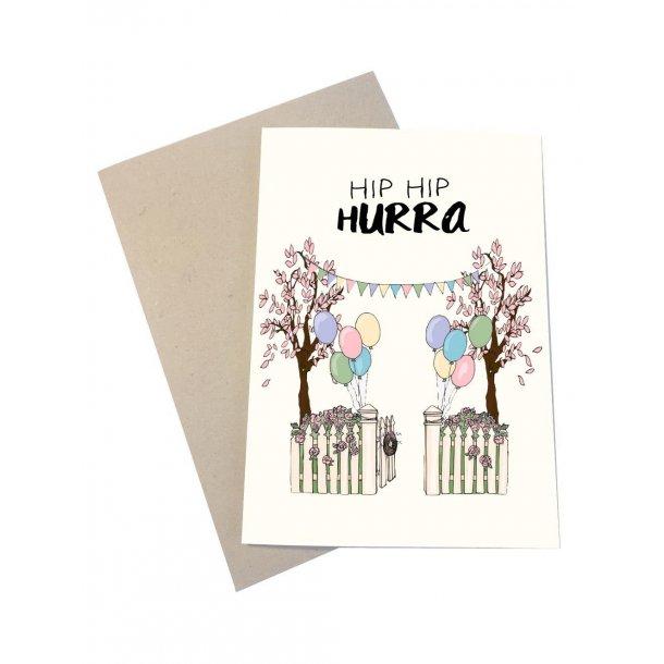 Hip Hip Hurra - en festlig have
