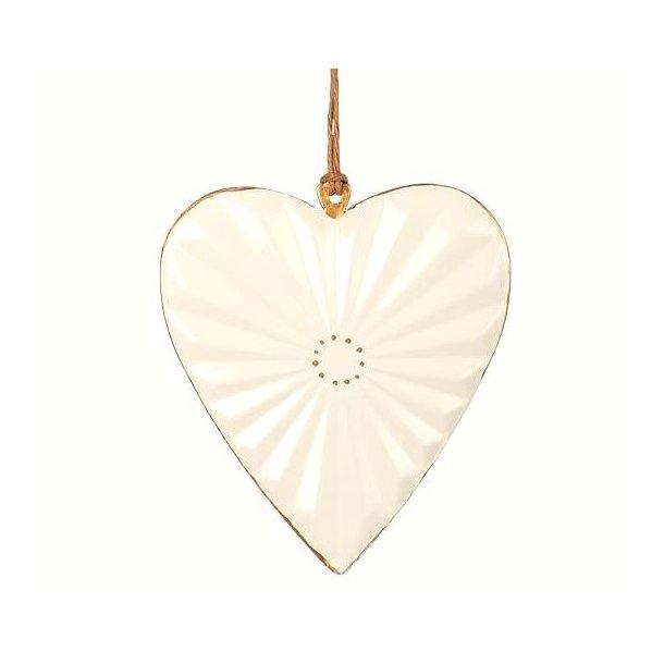 Hjerte, hvid