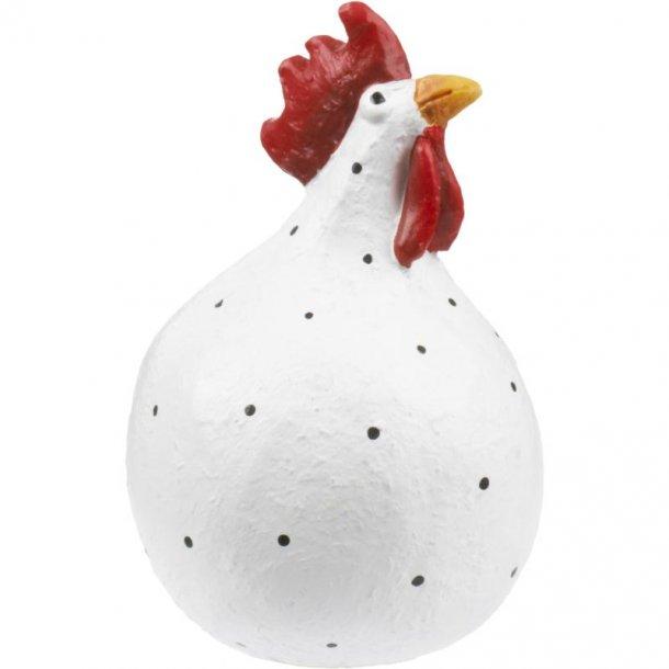 Høne, hvid 5cm fra Nääsgränsgården