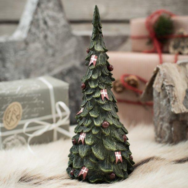 Juletræ med flag, stor